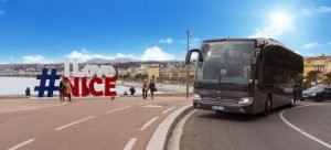 Location autocar et bus, Nice, Cannes, Saint Tropez, Monaco